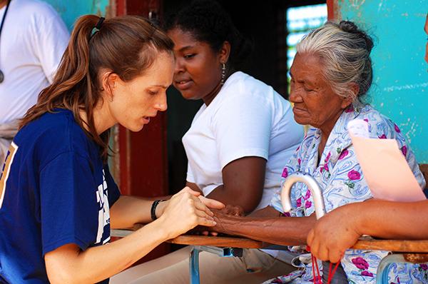 Soziales Engagement Altenpflege