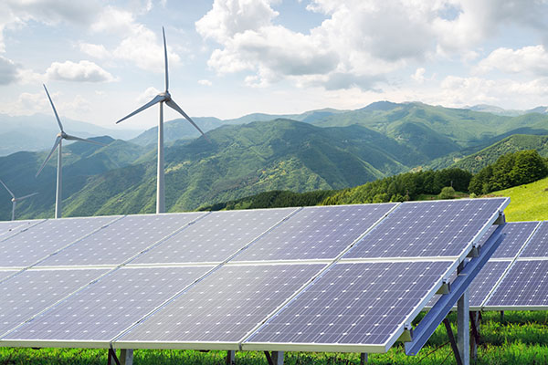 Strommix zu 47 % regenerativ