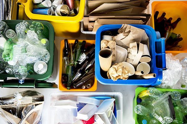 Viele EU-Länder weit vom Recyclingziel entfernt
