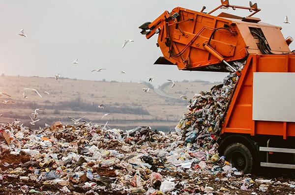 Eine halbe Tonne Müll pro EU-Bürger