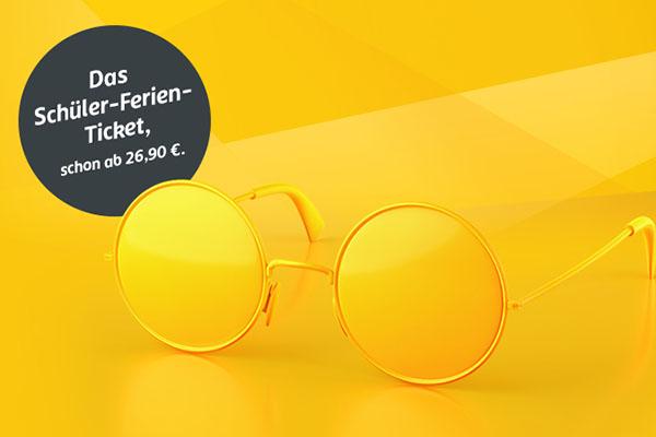 Schüler-Ferien-Ticket Baden Württemberg - Raus aus der Schule, rein ins Leben.